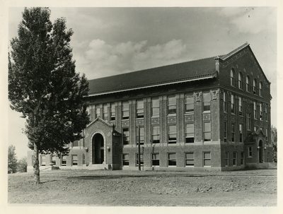 Old picture of Lewis Hall